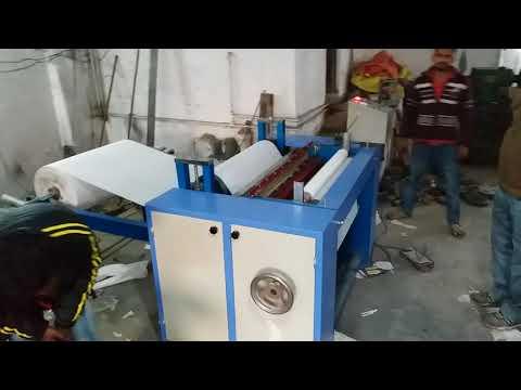 4 kW Semi Automatic Toilet Roll Making Machine