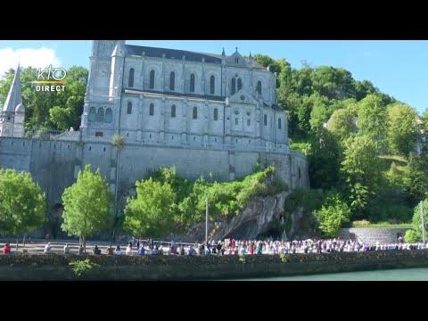 Messe de 10h à Lourdes du 22 juin 2021