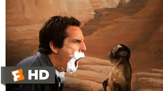 Night at the Museum (5/5) Movie CLIP - Slapping the Monkey (2006) HD