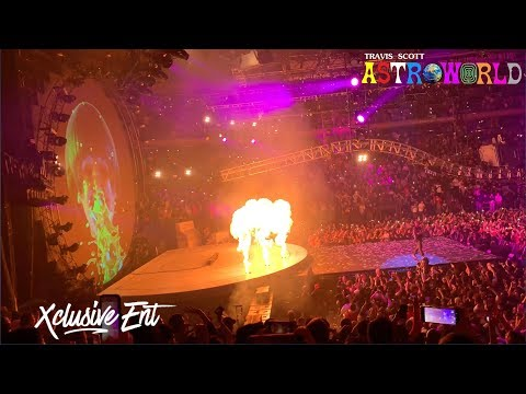 Travis Scott - Astroworld: Wish You Were Here Tour - Madison Square Garden - March 2nd 2019 - XclusiveEnt