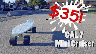 Cheap Alternative Penny Board   Glow in the Dark Cal 7 mini cruiser