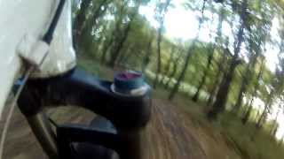 preview picture of video 'Kurz vor Sonnenuntergang Plabutsch MTB Downhill (uncut)'