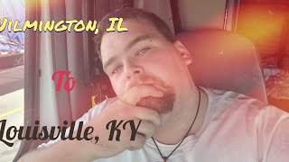 Going from Wilmington IL to the receiver in Louisville KY