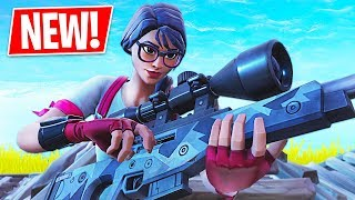 New Sniper Gameplay!! *Pro Fortnite Player* (Fortnite Battle Royale)