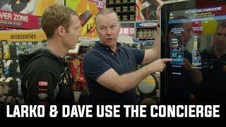 Mark Larkham & David Reynolds use the Penrite Product Selector Concierge