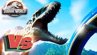 20 ИНДОМИНУС РЕКСОВ - Схватки Динозавров - Jurassic World EVOLUTION #2