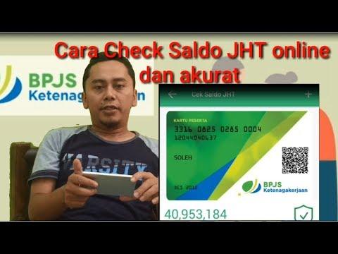 akurat !! cara check Saldo JHT BPJS secara Online !!  akurat !!