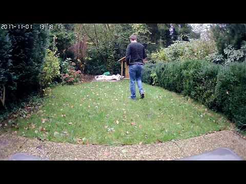 Digoo DG-M1Z 1080P - REAL Sample-Media // in garden  Banggood