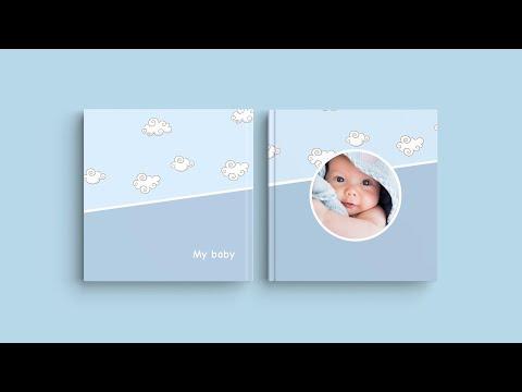 Inspiração para a capa do seu Álbum Digital - 'O meu bebé'