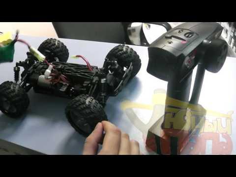 Синхронизация пульта управления с машинами Himoto