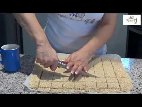 Παστέλι - Honey sesame candy bar ( Pasteli ) - StoPikaiFi.gr