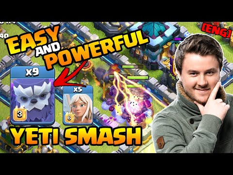 NEW Best Townhall 13 Strategy | Yeti Smash is INSANE | Best TH 13 Attack Strategies Clash of Clans