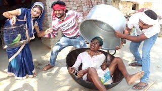 मुर्गा के पार्टी पिकनिक || तिलकहरू भगलन बर्तन देखते || Khesari 2, Priti Ji, Comedy Video 2021