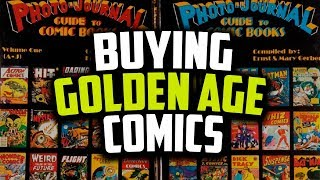 How To Buy Golden Age Comics