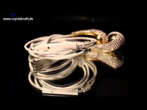 iPhone Earphone Diamomt Crystal Strass Kopfhörer