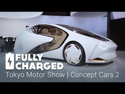 Tokyo Motor Show 2 – Concept Cars 2 | Fully Charged