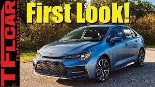 2020 Toyota Corolla Sedan World Debut: A New Corolla is Born!