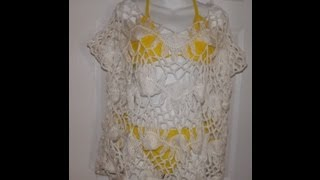 Hairpin Lace Summer Blouse Part 1 - With Ruby Stedman