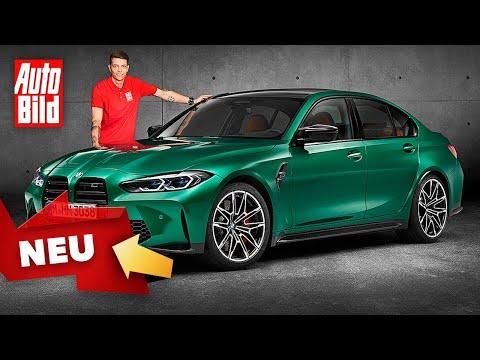 BMW M3 (2020): Neuvorstellung - Sitzprobe - Sportwagen - Info
