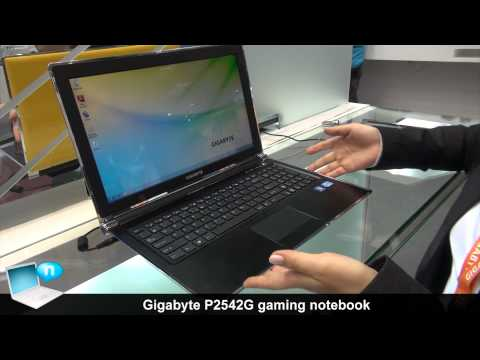 Gigabyte P2542G gaming notebook
