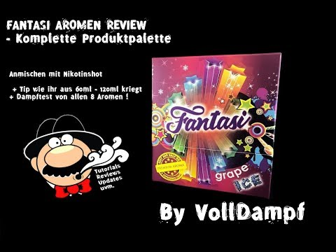 YouTube Video zu Fantasi Orange ICE Shake and Vape Premium Aroma