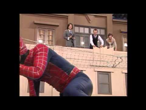 There's no subtitles so I don't really know what's going on, but this Japanese parody of Spider-Man 3 is on the best things I've ever seen