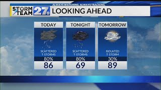 WATCH: Severe storms possible today