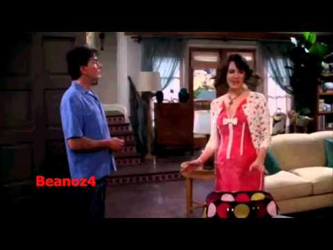 Two and a Half Men- Charlie Sheen's last scene