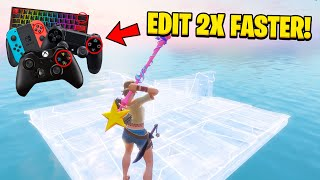 The SECRET Setting To Edit 2X FASTER on Console & PC! (Tutorial + Tips and Tricks)