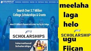 Scholarship- meelaha laga helo Scholarship ugu wanaagsan