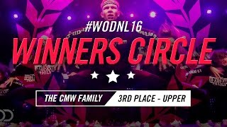 The CMW Family | Winners Circle | World of Dance Netherlands Qualifier 2016 | #WODNL16