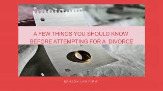 Filing Divorce in Arkansas
