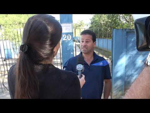 Wagnew o fiscal do Povo fala com o SBT sobre a Represa do Calazan e aponta culpados .