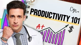 Productivity 101: Tips On How To Be Massively Productive | Doctor Mike - Video Youtube