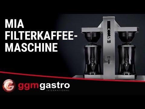 Serie Mia - Filterkaffeemaschine FKMC10 - GGM Gastro