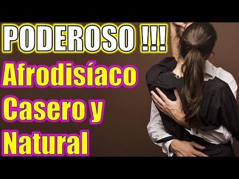 Este es de los más POTENTES Afrodisíacos Caseros y Naturales para Hombres y Mujeres, Viagra Natural