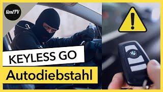 Autodiebstahl Keyless Go. Wie sichert man sein Auto richtig?