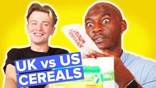 UK Vs. USA: Breakfast Cereal Swap
