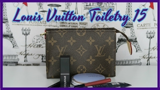 Louis Vuitton Toiletry Pouch 15 | Review | Red Ruby Creates