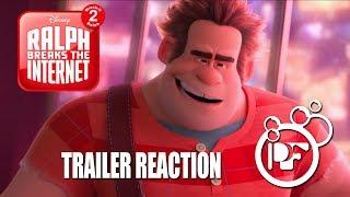 Ralph Breaks the Internet: Wreck-it Ralph 2 - Our Trailer Reaction