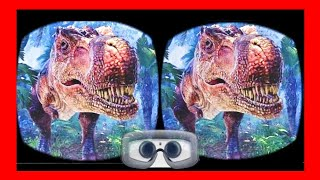 🔴 [VR VIDEOS 3D] Dinosaur from Ark PARK in Virtual Reality for VR BOX 3D SBS 1080p