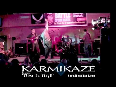 "Karmikaze performing ""Viva La Vinyl!"" - Battle of the Bands"