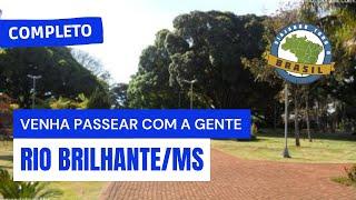 Viajando todo o Brasil. Rio Brilhante-MS
