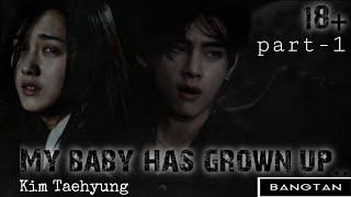 °Моя малышка стала взрослой°|BTS|Kim Taehyung|Банальная надпись|1 part|