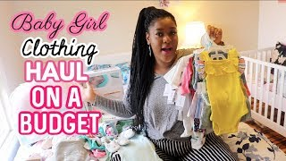I SPENT $1000 ON BABY CLOTHES! CARTERS, WALMART, HOMESENSE, | MONIQUE VIEWS