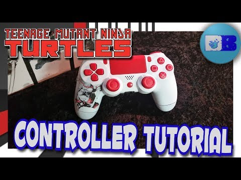 Download How To Paint A Ps4 Controller Tmnt A Drumblanket