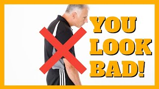 Yes, You Need to Fix Your Rounded Shoulders! You Look Bad! (3 Step Program)