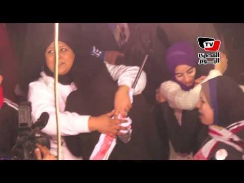 أهالي ضحايا «وايت نايتس» يشعلون الشماريخ في الذكرى الأولي لأحداث «الدفاع الجوي»