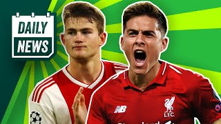 Arsenal's Europa League FAIL, De Ligt to Barca + Dybala to swap with Salah? ► Onefootball Daily News
