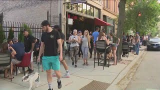 Some Chicago Restaurants Open For Outdoor Dining On First Day Of Phase 3